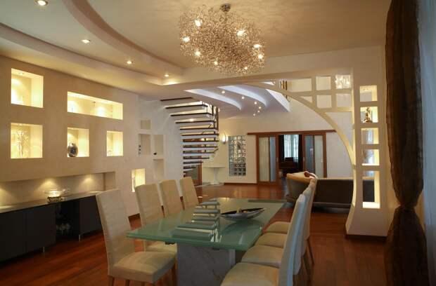 Ниша в стене из гипсокартона – удобное и стильное решение для дома (25 фото)