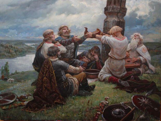 Что лежит в основе русского язычества?