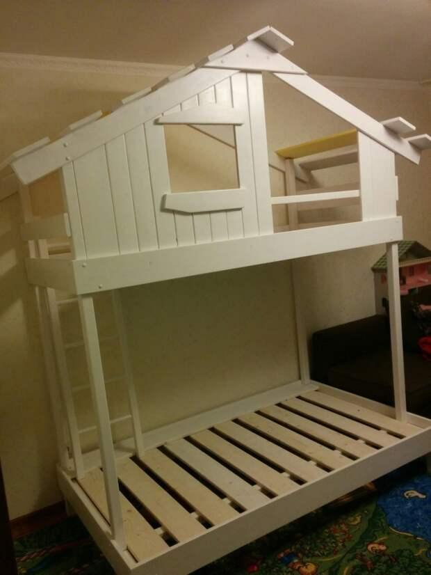 Как построить кровать-домик своими руками кровать.домик, построить, своими руками