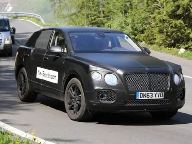 Bentley показала новое видео о своем первом вседорожнике