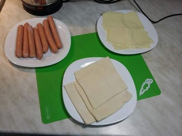 Рецепт приготовления сосисок в тесте - готовить легко и просто! рецепт, сосиска в тесте, готовим вместе, приятного аппетита, Good EAT, длиннопост