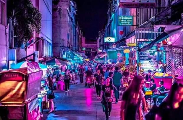 Улицы неоновых фонарей: ночной Бангкок в объективе Хавьера Портела