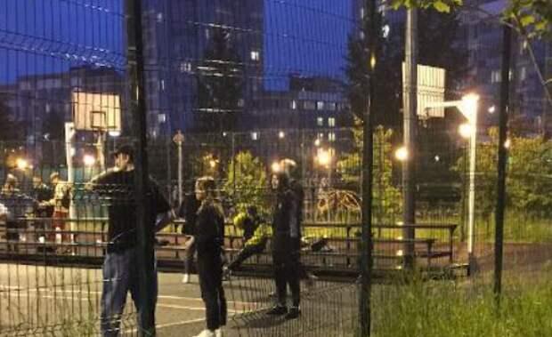 Коммунальщики восстановили ограждение в парке «Дубрава»
