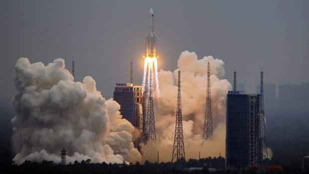 В Роскосмосе назвали дату входа второй ступени «Чанчжэн-5Б» в плотные слои атмосферы