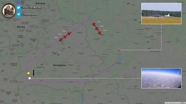 Прилет в Беларусь восьми дальних бомбардировщиков ВКС стал ответом на провокации американцев