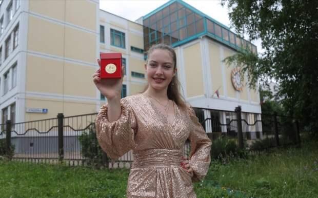 Выпускница школы «Свиблово» получила золотую медаль и хочет поступить в Университет Правительства