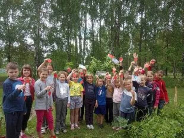 День Беларуси в лагере ´Солнышко´.