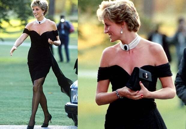 «Платье мести» принцессы Дианы и провокационные наряды Монро