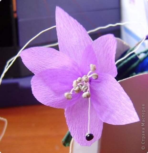 Мастер-класс Делаем тычинки для маленьких цветочков Материал бросовый фото 3