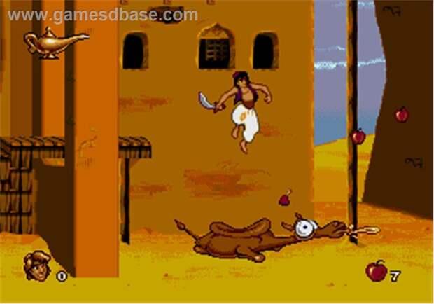 Disney's Aladdin. 90-е годы, Денди 8 бит, любимые игры
