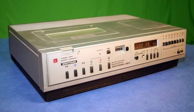 Лучший видеомагнитофон Советского Союза