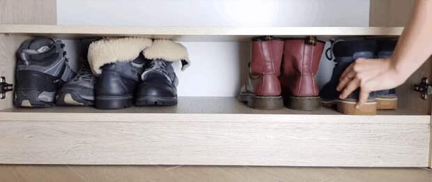 Компактное размещение обуви: продуманные варианты хранения