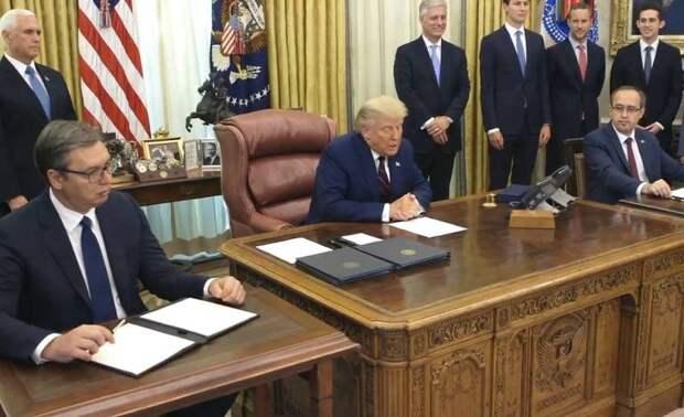 Трампу под конец срока удалось добиться двух дипломатических побед