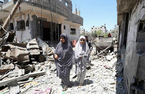 Израиль провел крупнейшую атаку по объектам в секторе Газа с начала конфликта
