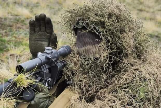 Снайперы Донбасса вооружились мощными иностранными винтовками