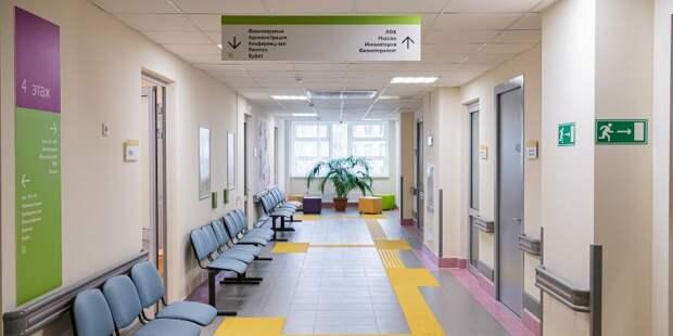 В поликлинике на Инженерной установили навигацию и подключили лифты
