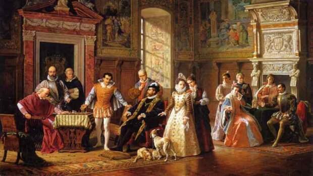 При дворе средневекового короля. Как жили придворные 3