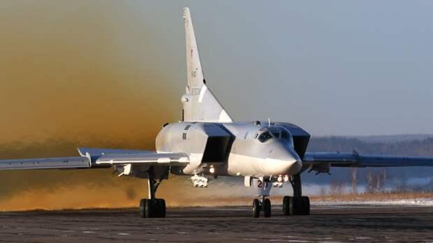 Бомбардировщики Ту-22м3 прилетели на российскую авиабазу Хмеймим в Сирии