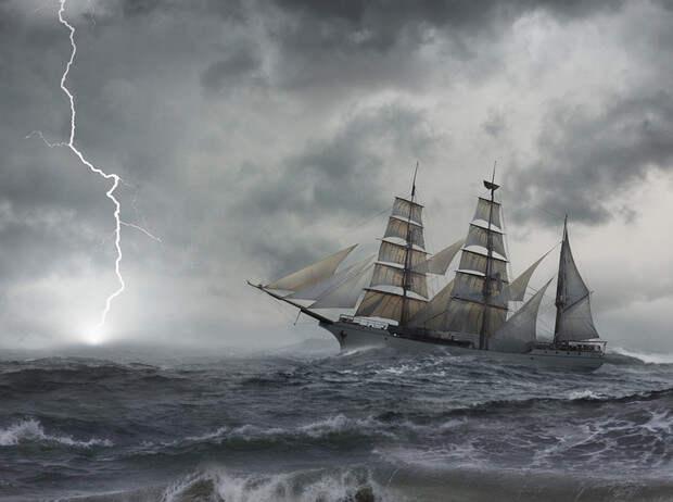 Фото №1 - Призраки океана: 4 загадочные истории исчезновения экипажей кораблей