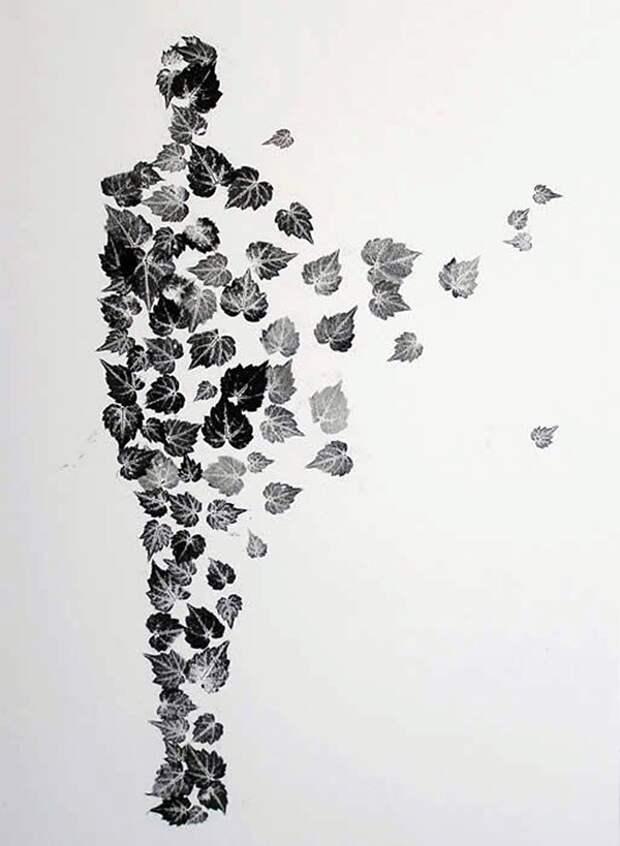 Силуэт на стене
