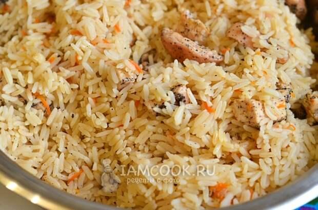 Пример пропаренного риса