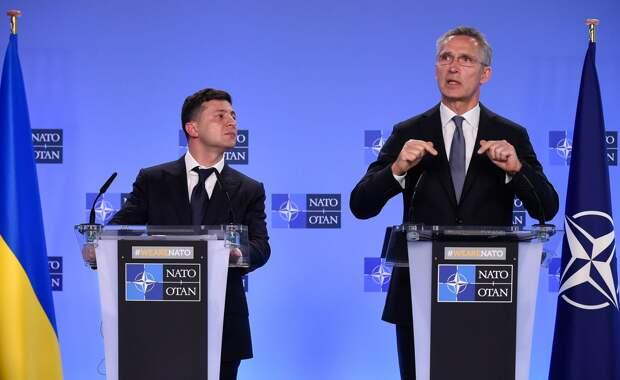 В НАТО сообщили, что вопрос членства Украины сейчас не рассматривается