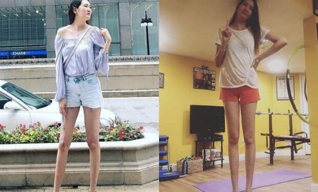 «Длинные ноги – это испытание». Девушка с самыми длинными ногами рассказала о своей жизни