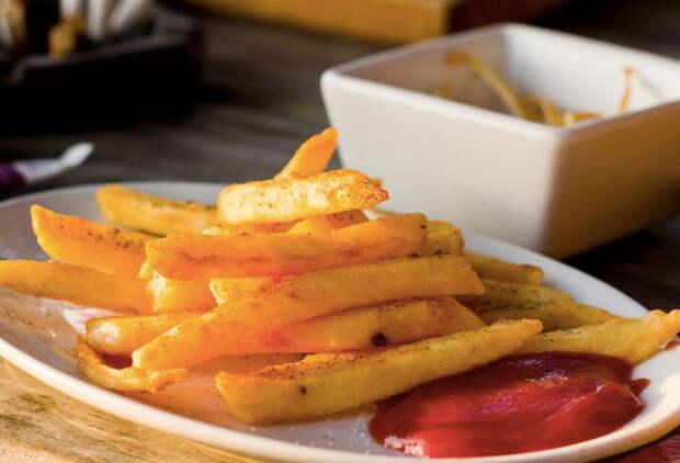Как заморозить картофель фри дома