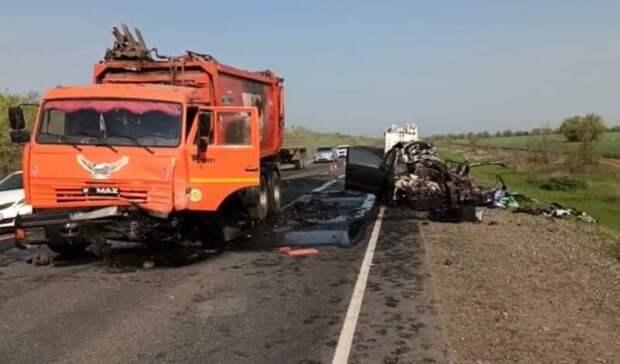 Страшное ДТП в Тоцком районе унесло жизни трёх человек