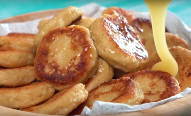 Овсяные сырники — простое блюдо к завтраку