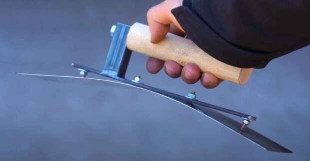 Самодельный инструмент, который пригодится штукатурам
