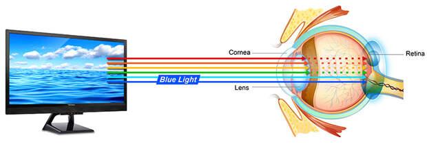 Офтальмолог рассказала о вреде синего света для глаз пользователей гаджетов