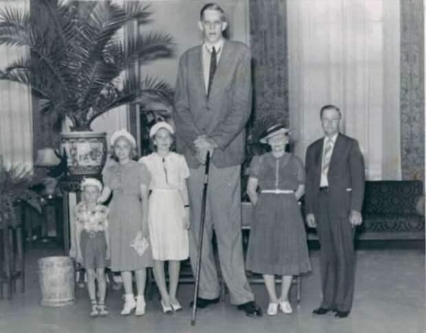 Какой рост был у самого высокого человека в мире? (6 фото)