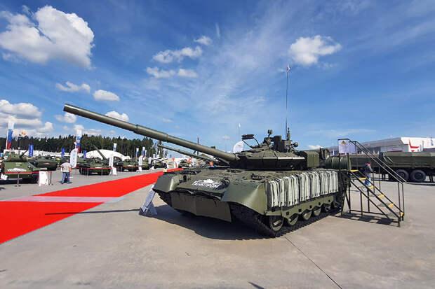 Запатентована новая модификация танка Т-80