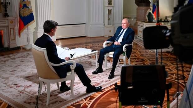 Владимир Путин приземлил американского журналиста