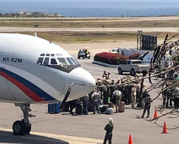 Зачем российские военные прилетели в Венесуэлу?