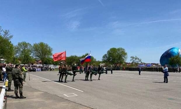 На полигоне ДГТУ проходит военно-спортивный праздник «Поклонимся великим тем годам...»