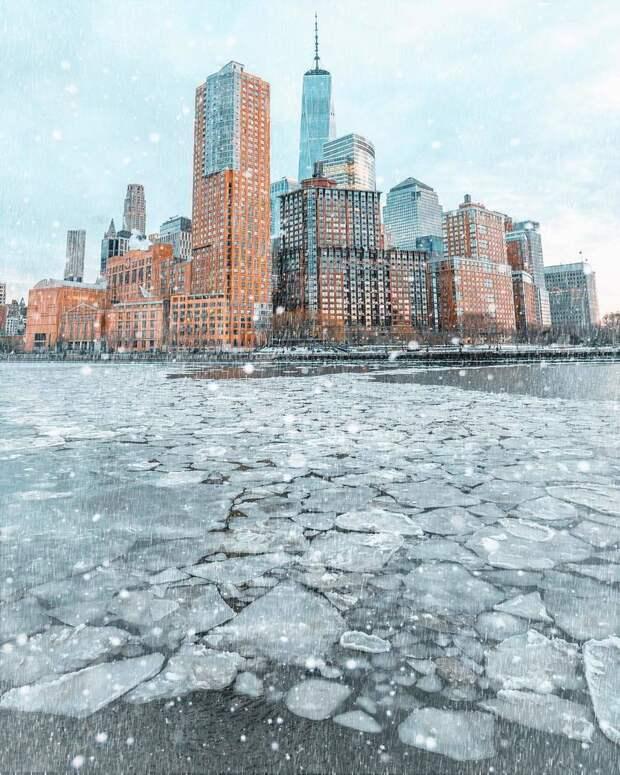 Мегаполис нон-стоп: волшебные фото Нью-Йорка от Сидни Чуа