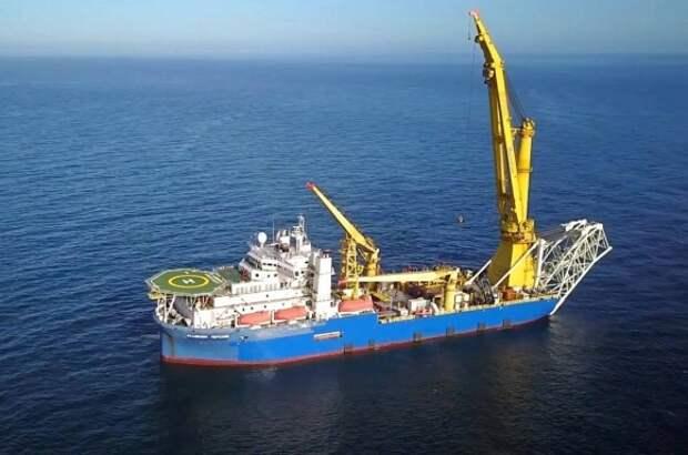 Осталось проложить 6,5 км нитки «В» газопровода «Северный поток-2»