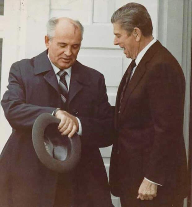 Американские и британские лидеры глазами советских фотографов (ФОТО)