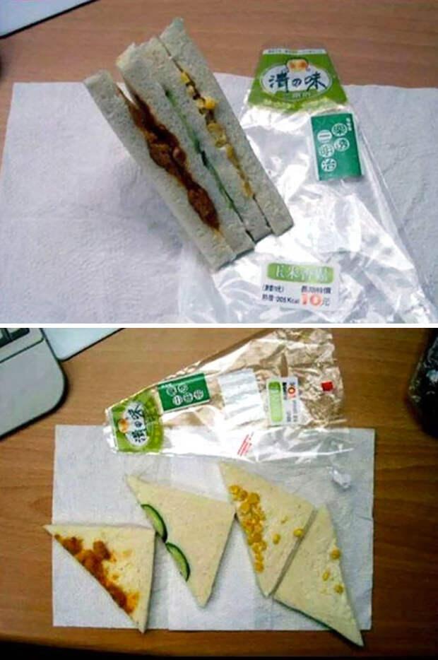 А казалось, в сэндвиче полно начинки... еда, кругом обман, продукты