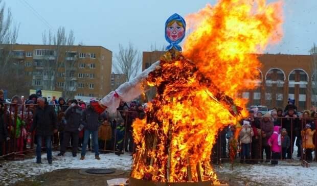 Широкой масленицы не будет. В Оренбурге отменены массовые гуляния с блинами