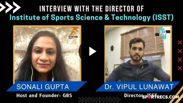 Sonali Gupta in conversation with ISST Director Dr. Vipul Lunawat | GBS