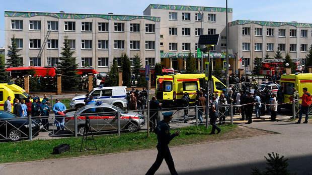 Еще один ребенок госпитализирован после трагедии в школе в Казани