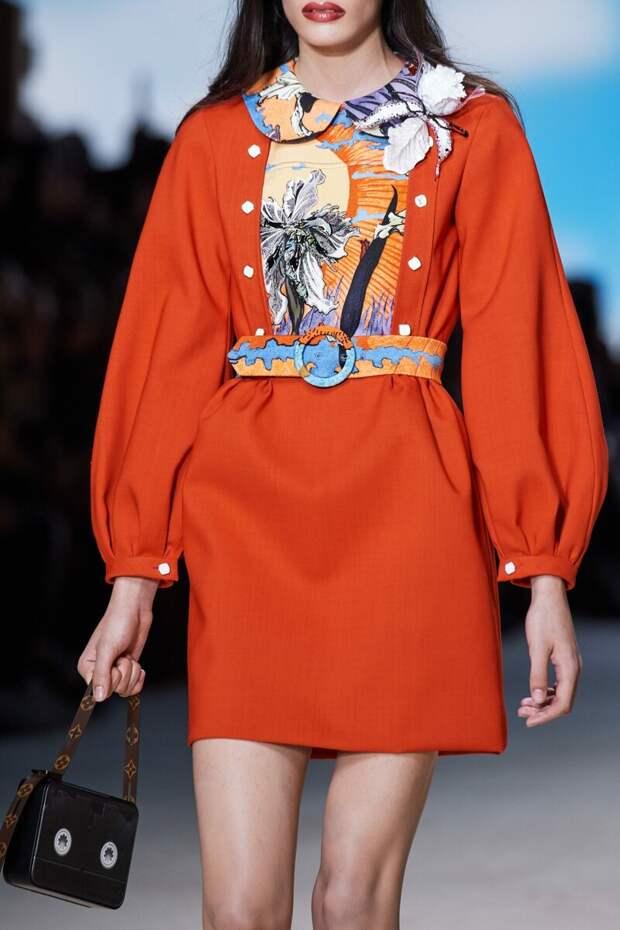 Что в тренде? Стильные детали коллекций Louis Vuitton, Saint Laurent, Balenciaga 2020