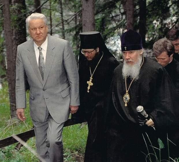 Борис и религия.