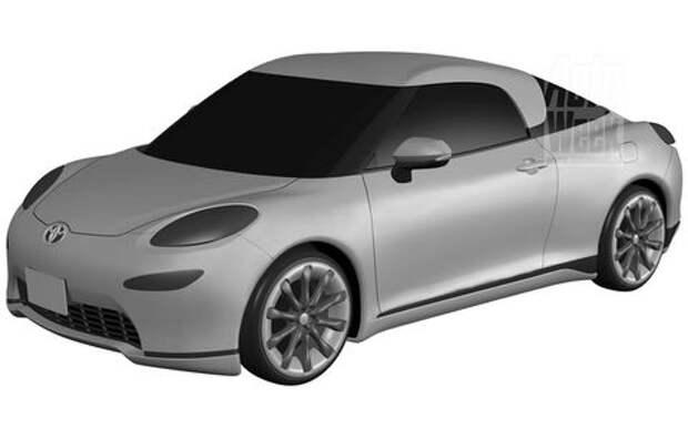 Toyota патентует новый спорткар