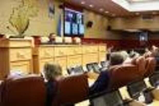 Утвержден проект повестки 43-й сессии Законодательного Собрания