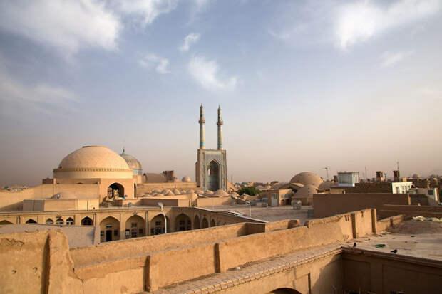 Восход в Язде, Иран красота, путешествия, фото