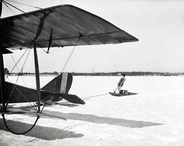 Самолеты и пилоты начала 20-го века на снимках американских фотографов (23)